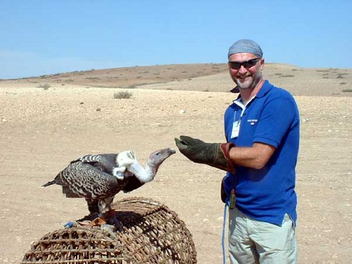 Vulture on location with Peter Bloom